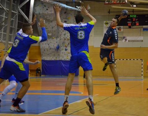 Prijateljska Člani RK Grosuplje - Mladinska reprezentanca Slovenije doma 19. 10. 2015_2