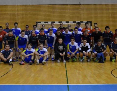 Prijateljska Člani RK Grosuplje - Mladinska reprezentanca Slovenije doma 19. 10. 2015_7