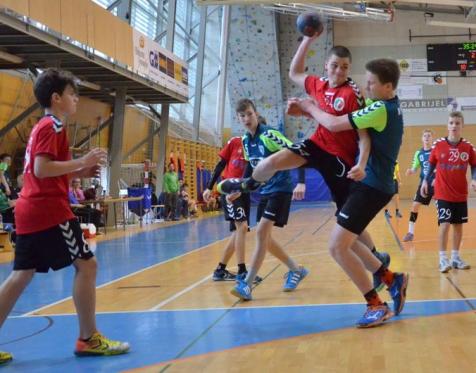 Starejši dečki RK Grosuplje - RK Ribnica doma 12. 12. 2015